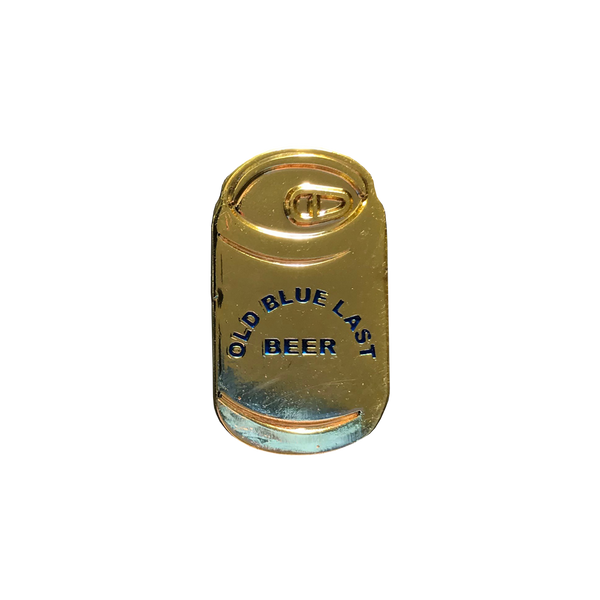 Old Blue Last Beer Can pin (shortboy)
