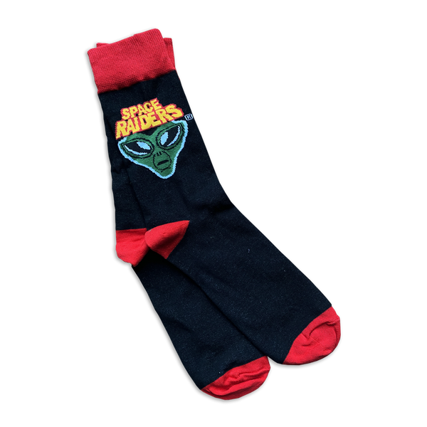 Space Raiders Socks