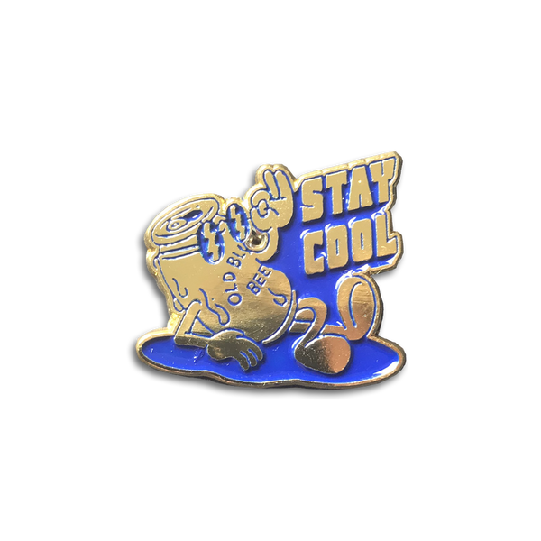 Old Blue Last Beer - Stay Cool pin