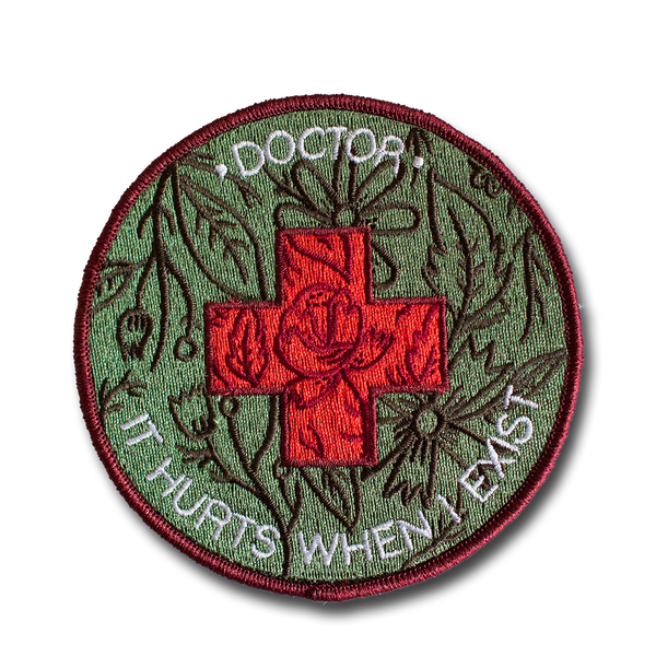 Stay Home Club - Doctor It Hurts patch