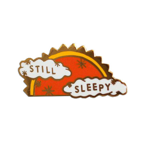 Stay Home Club - Still Sleepy pin