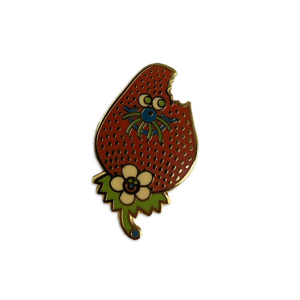 Jumbo Press - Strawberry pin