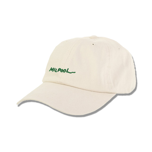 The Leftorium - Milpool 6 panel cap - stone
