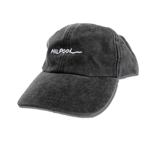 The Leftorium - Milpool 6-Panel Hat - Washed Black