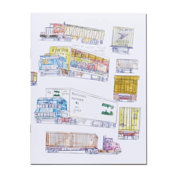 Wesley Willis - Trucks book
