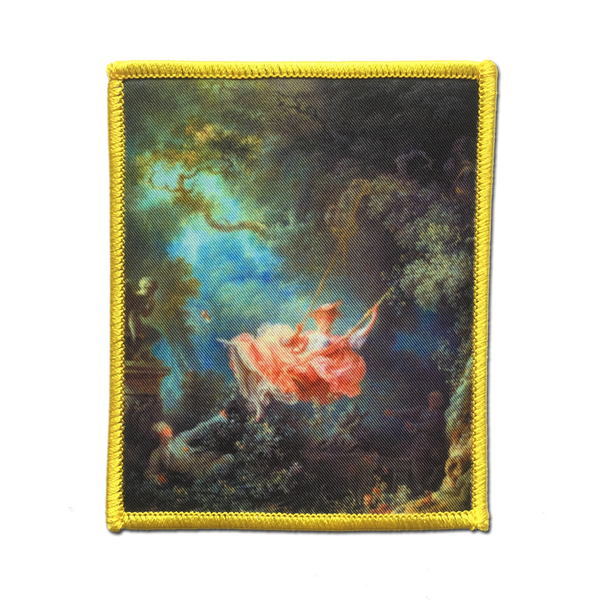 Jenni's Prints - The Swing, L'Escarpolette, by Jean-Honoré Fragonard patch