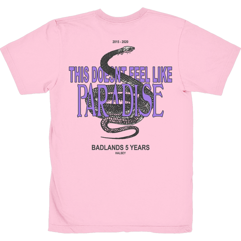 STUCK IN PARADISE PINK T SHIRT