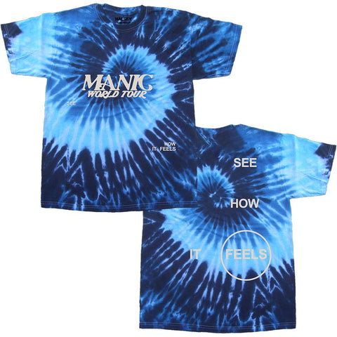 FEELS BLUE TIE DYE T-SHIRT