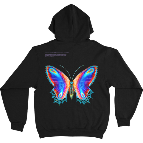 Multicolor Butterfly Hoodie