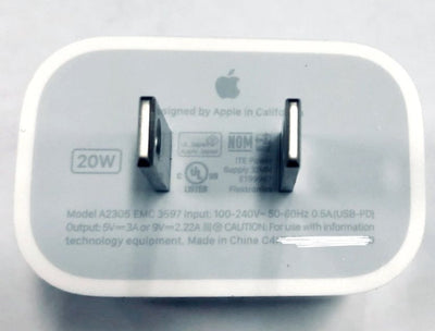20W Power Delivery wall charger from Apple found in new filings.