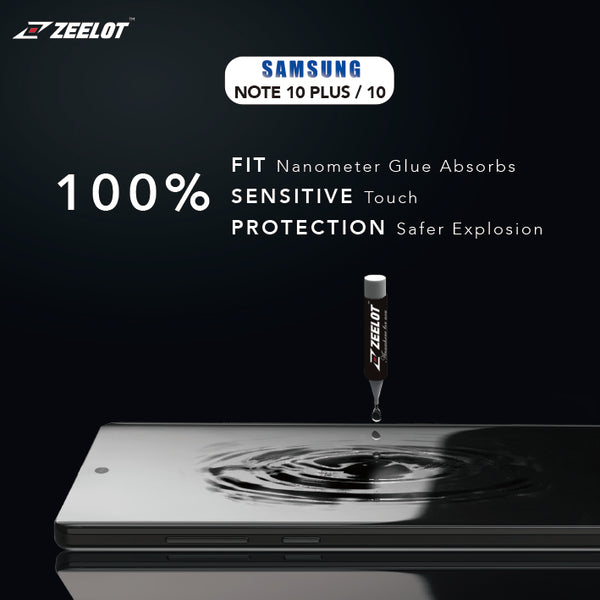 Best Samsung Galaxy Note 10 Tempered Glass Screen Protector UV LOCA Glue