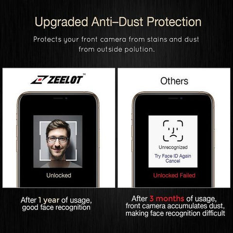Zeelot PureGlass Anti-Blue Ray LOCA Tempered Glass Screen Protector for Samsung Galaxy S10