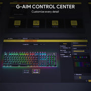 Shop and buy Aukey KM-G12 Gaming Mechanical Keyboard LED Backlit Customizable RGB Backlight Steel Body for PC Laptop | Casefactorie® online with great deals and sales prices with fast and safe shipping. Casefactorie is the largest Singapore official authorised retailer for the largest collection of mobile premium accessories.
