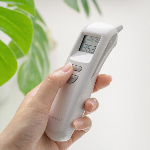 Shop and buy Momax 1-Health Pro 2 in 1 Forehead/Ear Infrared Sensor Thermometer 1-Second Detection (ISO Certified) | Casefactorie® online with great deals and sales prices with fast and safe shipping. Casefactorie is the largest Singapore official authorised retailer for the largest collection of mobile premium accessories.