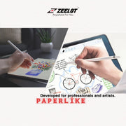 "Shop and buy Zeelot Paperlike Film Screen Protector iPad Pro 11"" (2020/2018) / iPad Air 10.9"" (2020) Anti-Glare Matte