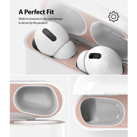 Shop and buy Ringke Dust Guard Sticker for AirPods Pro (2019) 2pack Anti-Dust Barrier Perfect Fit Matte Colours| Casefactorie® online with great deals and sales prices with fast and safe shipping. Casefactorie is the largest Singapore official authorised retailer for the largest collection of mobile premium accessories.