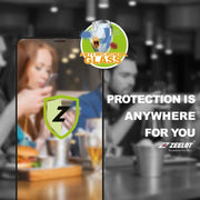Shop and buy ZEELOT PureGlass 2.5D Anti-microbial Tempered Glass Screen Protector for iPhone 11 Pro (2019) | Casefactorie® online with great deals and sales prices with fast and safe shipping. Casefactorie is the largest Singapore official authorised retailer for the largest collection of mobile premium accessories.
