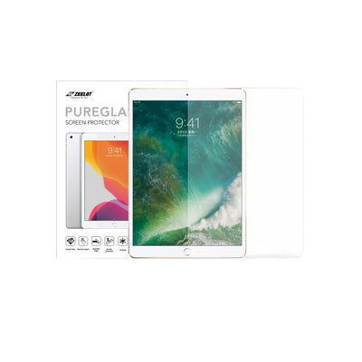 "Shop and buy Zeelot PureGlass 2.5D Corning Anti-Glare Tempered Glass Screen Protector for iPad 10.5"" (2017-2019)