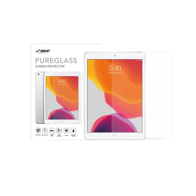 "Shop and buy Zeelot PureGlass 2.5D Corning Anti-Glare Tempered Glass Screen Protector for iPad 7th Gen 10.2"" (2019) Matte