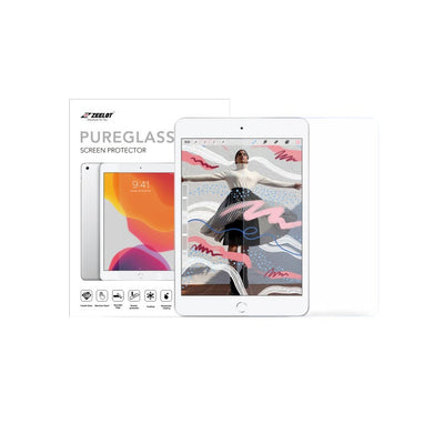 "Shop and buy Zeelot PureGlass 2.5D Corning Anti-Glare Tempered Glass Screen Protector for iPad Mini 5/4 7.9"" (2015-2019)