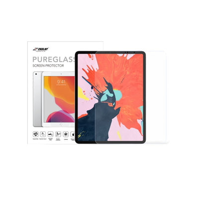 "Shop and buy Zeelot PureGlass 2.5D Corning Anti-Glare Tempered Glass Screen Protector for iPad Pro 12.9"" (2018)