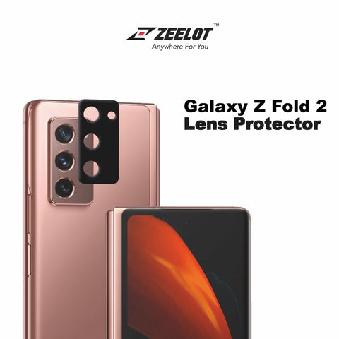 Shop and buy Zeelot Camera Lens Protector for Samsung Galaxy Z Fold 2 (2020) Scratch-Resistant| Casefactorie® online with great deals and sales prices with fast and safe shipping. Casefactorie is the largest Singapore official authorised retailer for the largest collection of mobile premium accessories.