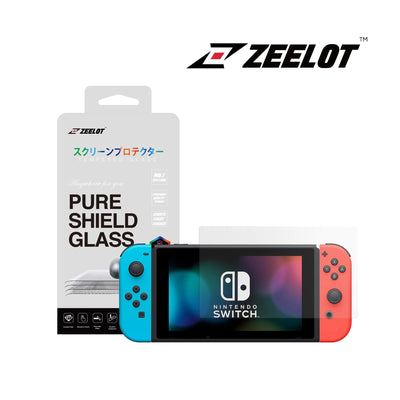 Shop and buy Zeelot PureShield Tempered Glass Screen Protector for Nintendo Switch| Casefactorie® online with great deals and sales prices with fast and safe shipping. Casefactorie is the largest Singapore official authorised retailer for the largest collection of mobile premium accessories.
