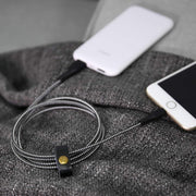 Aukey CB-AL2 MFI Nylon Braided Lightning Cable for Sync and Charging