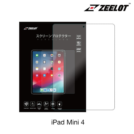 Zeelot PureGlass 2.5D Tempered Glass Screen Protector for iPad Mini 4