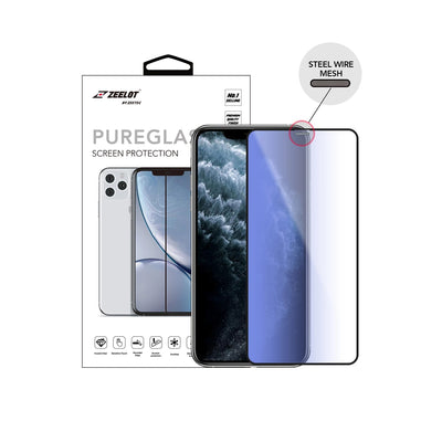 Where to buy the best-priced iPhone 11 Pro screen protector in Singapore? Check out the Zeelot Anti-Blue Ray 2.5D Tempered Glass here! More discount accessories only at Casefactorie!