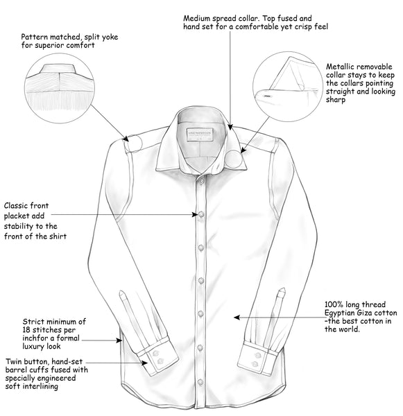 One Western - Details of a quality shirt