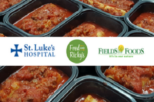 Find us in Fields Foods and St. Luke's Hospital!