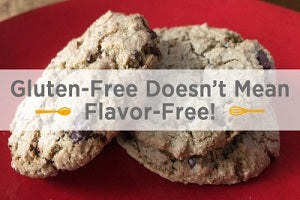 Gluten-Free Chocolate Chip Cookies: Gluten-Free Doesn't Mean Flavor-Free!