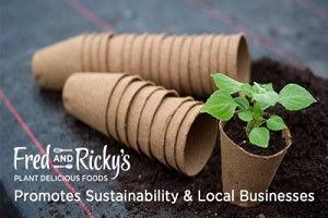 Fred and Ricky's Promotes Sustainability and Local Businesses