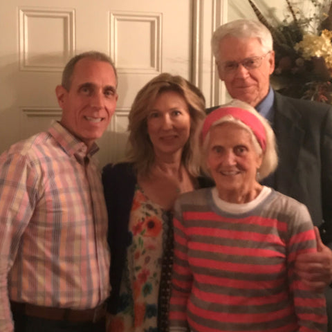Fred and Ricky with Dr. Caldwell B. Esselstyn Jr. and Ann Crile Esselstyn
