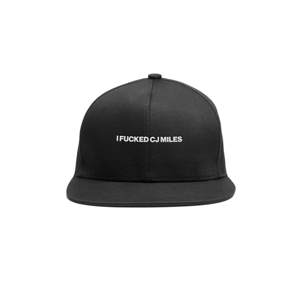 Black iFCJ Dad Cap