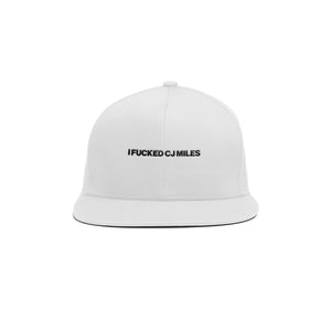 White iFCJ Dad Cap