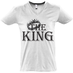 valentines day king t shirt