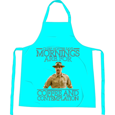 Stranger Things - Chief Hopper Monday Mornings Apron - Movie TV Show Merch