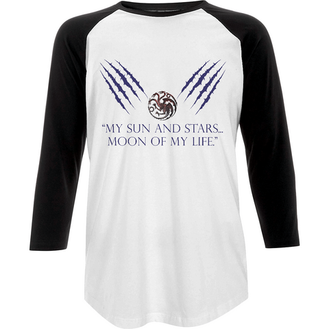 Game of Thrones - Moon of my Life - Baseball T-shirt - Movie TV Show Merch