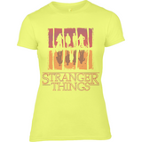 Stranger Things Upside Down - RO Anvil Ladies Fitted T-Shirt - Movie TV Show Merch