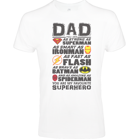 Superhero Dad - Sol's Imperial FIT T-Shirt - Movie TV Show Merch
