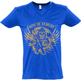 Sons of Anarchy - Sol's Master V-Neck T-Shirt - Movie TV Show Merch