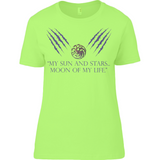 Game of Thrones - Moon of my Life - Anvil Ladies T-Shirt - Movie TV Show Merch
