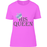 For Her Bl Queen - Anvil Ladies Basic T-Shirt - Movie TV Show Merch