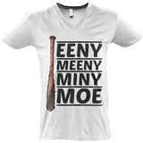 The Walking Dead Miny Moe Lucille - Sol's Master V-Neck T-Shirt - Movie TV Show Merch
