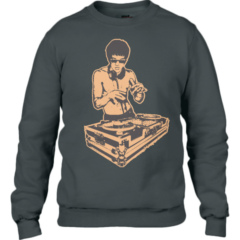 Bruce Lee Gold - Anvil Sweatshirt - Movie TV Show Merch