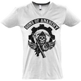 Sons of Anarchy bl - Sol's Master V-Neck T-Shirt - Movie TV Show Merch