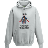 Rocky - Apollo Creed King of Sting AWDis Street Hoodie - Movie TV Show Merch