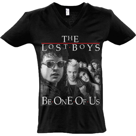The Lost Boys Be One of Us - Sol's Master V-Neck T-Shirt - Movie TV Show Merch
